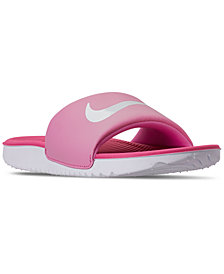 Nike Little Girls Kawa Slide Sandals from Finish Line
