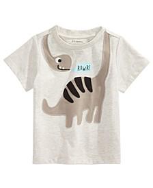 Baby Boys Wrap Around Dinosaur-Print T-Shirt, Created For Macy's