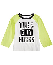 Baby Boys Rock-Print Cotton T-Shirt, Created For Macy's