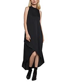 High-Neckline Dress