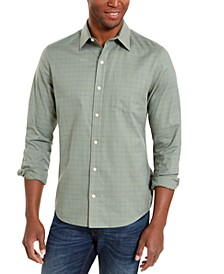 Men's Windowpane Shirt