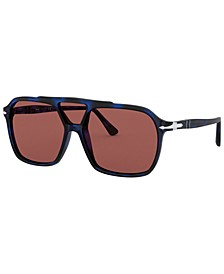 Polarized Sunglasses, PO3223S 59