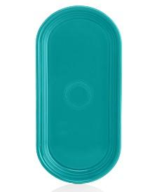 Fiesta Turquoise Bread Tray