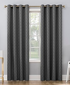 "CLOSEOUT! Maritza 52"" x 84"" Theater Grade Extreme Blackout Grommet Curtain Panel"