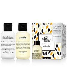 GET MORE! Receive a Free 2-pc Clean Team gift with any $50 Purchase