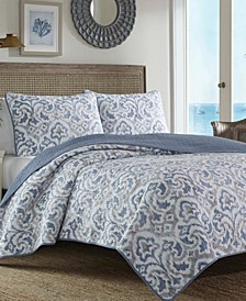 Tommy Bahama Cape Verde Full/Queen Quilt Sham Set