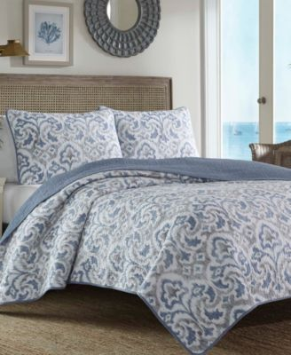 Tommy Bahama Cape Verde King Quilt Sham Set