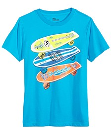 Big Boys Stacked Skate T-Shirt, Created For Macy's