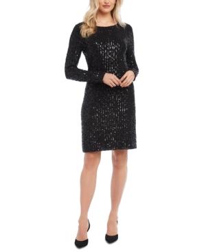 Karen Kane Dresses SEQUINED SHEATH DRESS