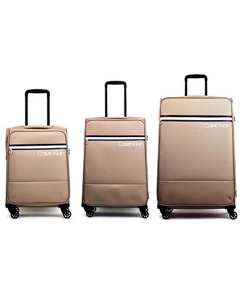 Calvin Klein Varsity Luggage Collection