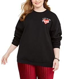 Trendy Plus Size C'est La Vie Sweatshirt