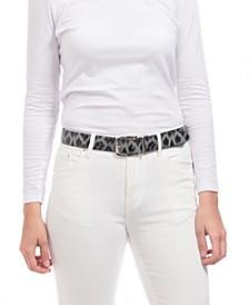 Leopard Reversible Belt