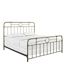 Metal Pipe Bed, King