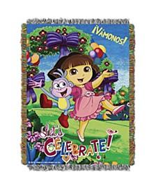 Dora the Explorer Tapestry Throw