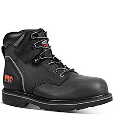 "Men's Pit Boss PRO 6"" Steel Toe Boots"