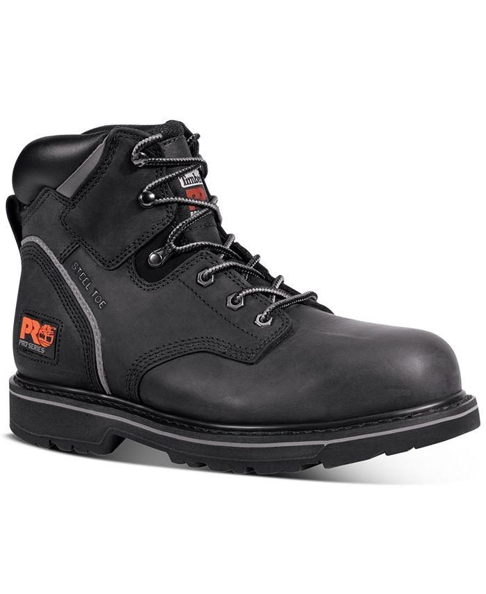 "Timberland - Men's Pit Boss PRO 6"" Steel Toe Boots"