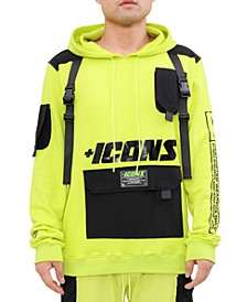 Men's Icons Regular-Fit Tactical Hoodie