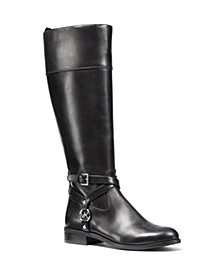 Preston Wide Calf Tall Riding Boots