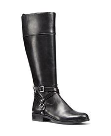 MICHAEL Michael Kors Preston Wide Calf Tall Riding Boots