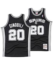 Men's Manu Ginobili San Antonio Spurs Hardwood Classic Swingman Jersey