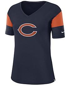 Women's Chicago Bears Tri-Fan T-Shirt