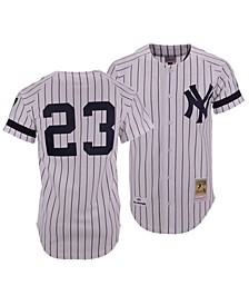 Men's Don Mattingly New York Yankees Authentic Cooperstown Jersey
