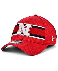 Nebraska Cornhuskers Team Color Stripe 39THIRTY Cap