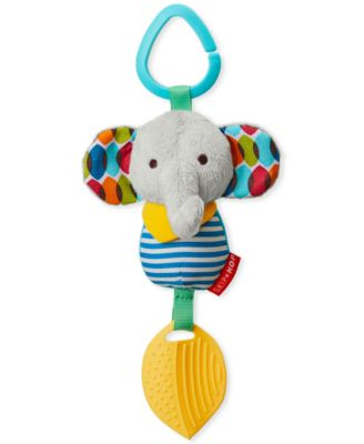 Skip Hop Elephant Chime and Teethe Toy