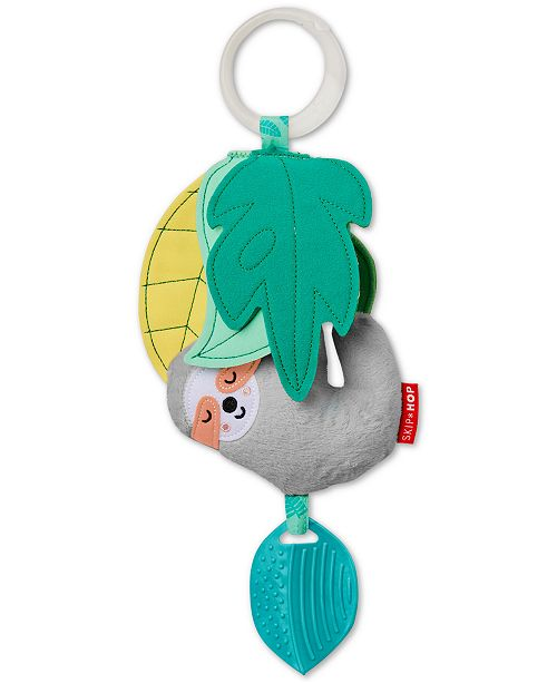 Skip Hop Tropical Paradise Sloth Jitter Toy