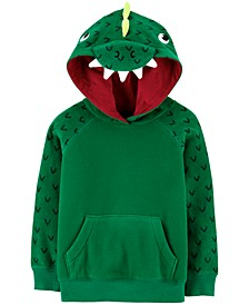 Toddler Boys Fleece Dragon Hoodie