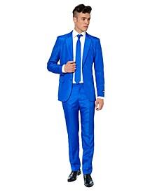 Men's Solid Blue Color Suit