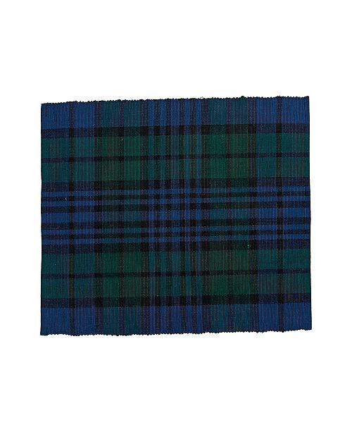 C&F Home C F Home Watch Plaid Placemat, Set of 6