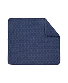 C F Home Abbott Navy Placemat, Set of 6