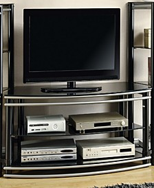 Berlin 2-Tier Curved Tv Console