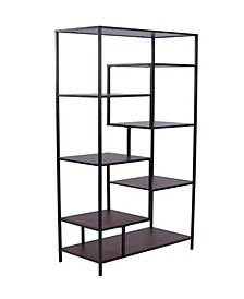 Tampa 7-Shelf Bookcase