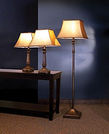 Champagne 3-Piece Lamp Set