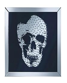 Elizabeth Wall Mirror with Jeweled Skull