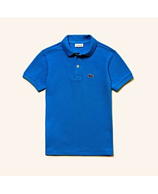 Toddler, Little and Big Boys Short Sleeve Classic Pique Polo Shirt