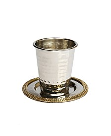 Kiddush Cup with Mosaic Design