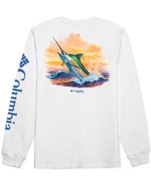 Columbia T-shirts MEN'S MARLIN GRAPHIC LOGO LONG SLEEVE T-SHIRT