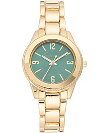 Women's Gold-Tone Bracelet Watch 33.5mm