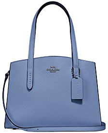 Charlie 28 Carryall in Pebble Leather
