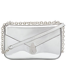 Calvin Klein Lock Metallic Shoulder Bag