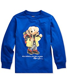 Little Boys Ski Bear Cotton Jersey T-Shirt