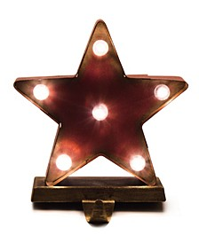 Marquee LED Star Stocking Holder