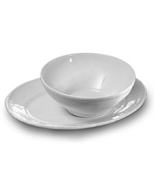 Algarve Oval Platter and Serving Bowl Set