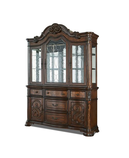 Furniture Reya Buffet & Hutch