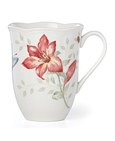 Butterfly Meadow Red Blue Butterfly Mug, Created for Macy's