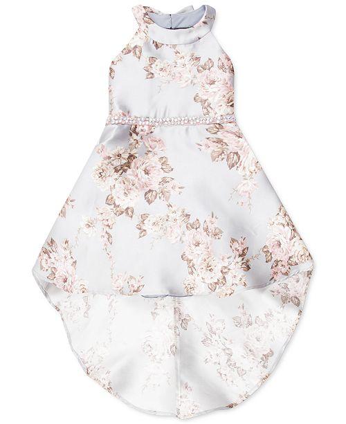 Speechless Toddler Girls Floral-Print High-Low Dress