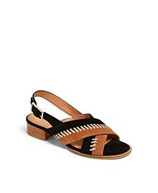 Amelia City Suede Sandals